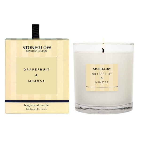 grapefruit & mimosa candle