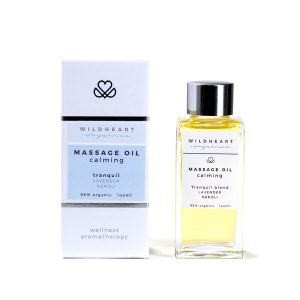 Tranquil massage oil for relaxation