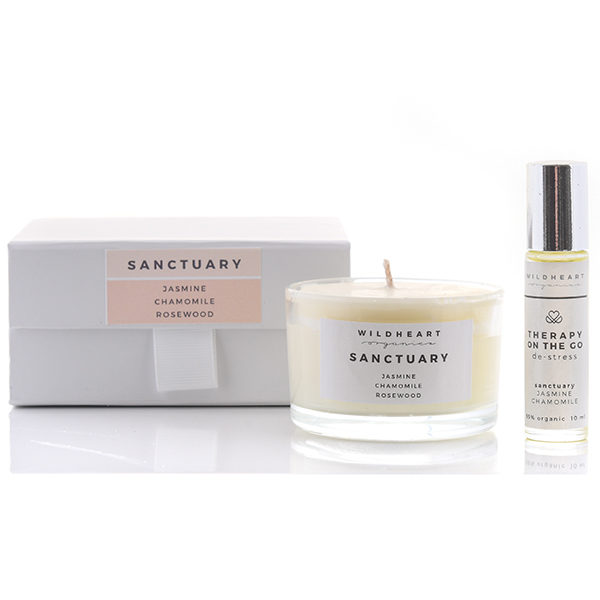 Sanctuary travel gift set