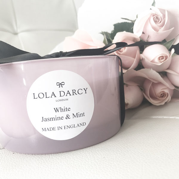 White Jasmine & Mint 3 Wick Soy Candle