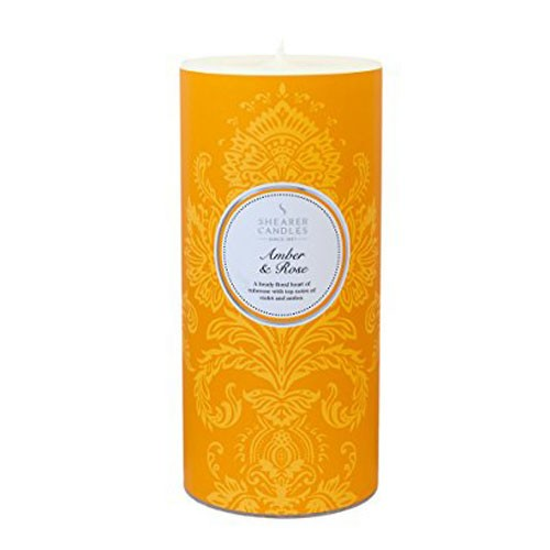 Amber and Rose - A heady floral heart of tuberose with top notes of violet and amber