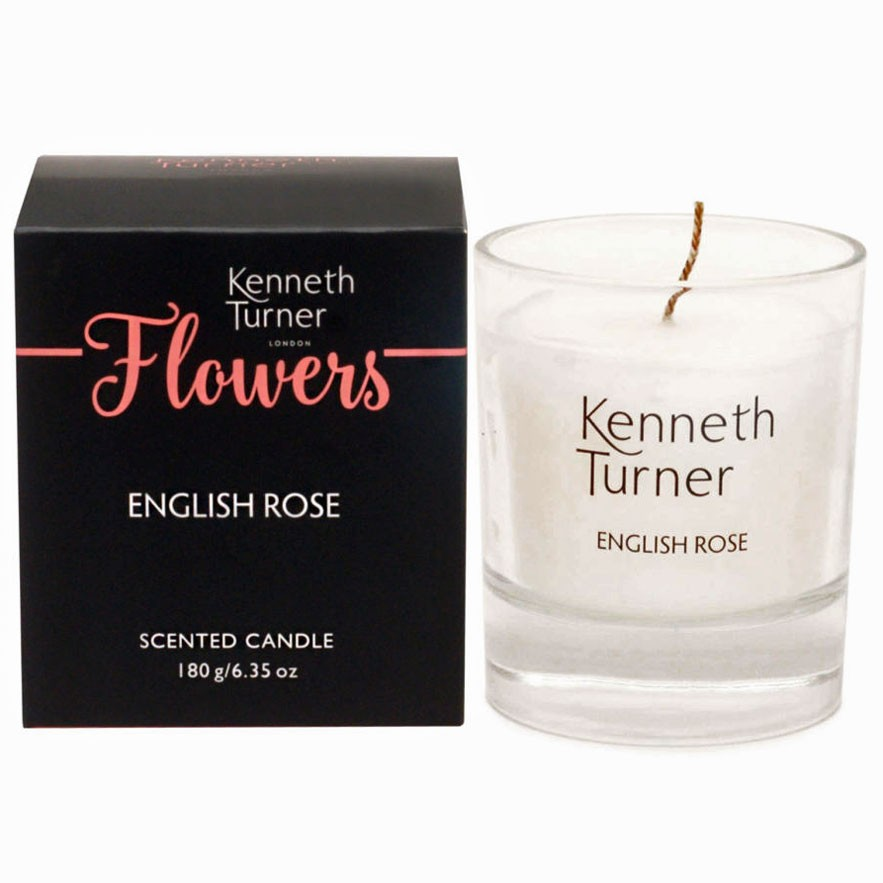 English Rose luxury candle in box