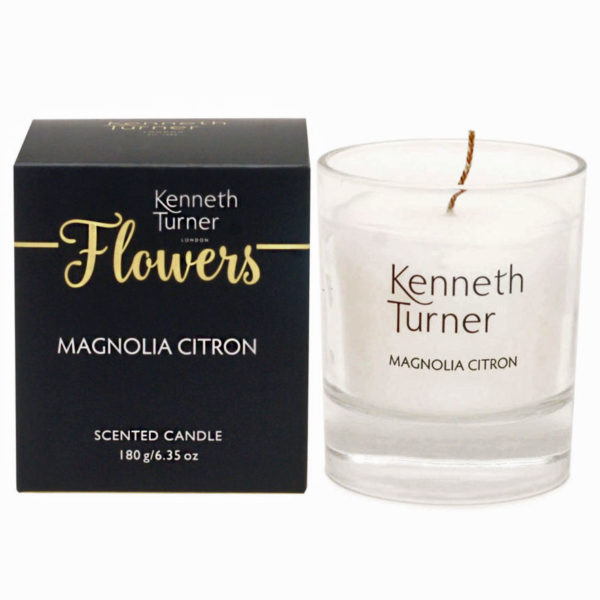 Magnolia citron luxury candle