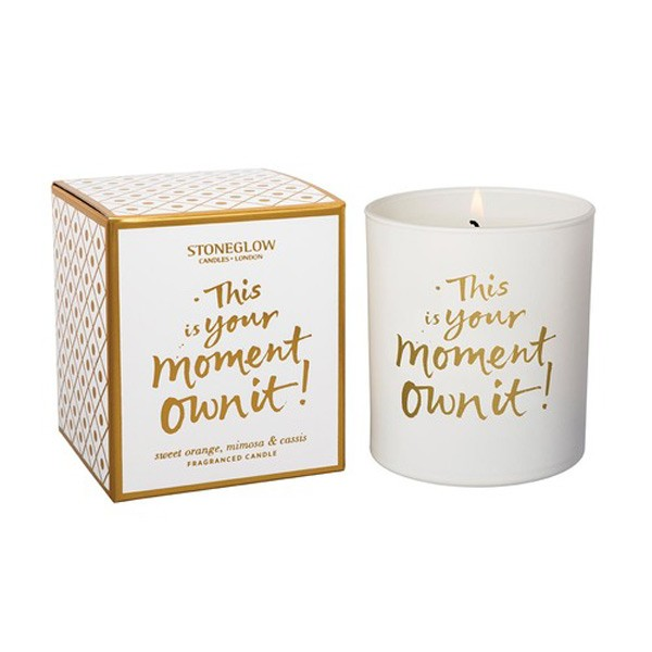 This is your moment luxury candle