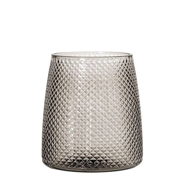 grey-bubble-candle-holder