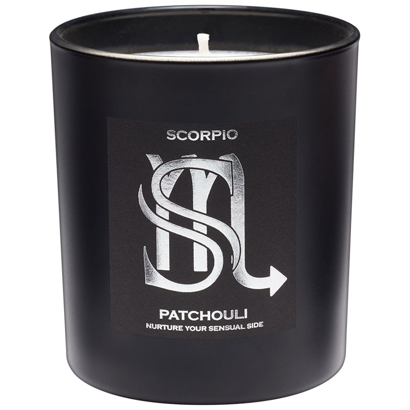 Scorpio luxury zodiac candle